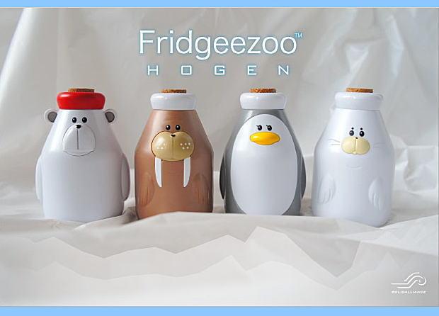 フリッジィズー 方言 冷蔵庫 しゃべる 話す 動物 牛乳ビン