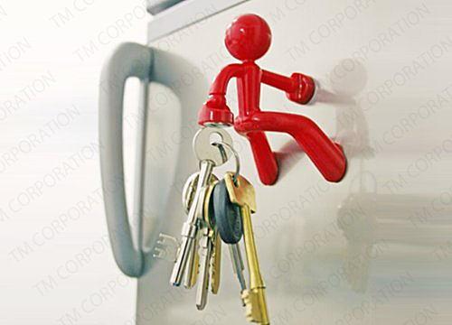 VS嵐のクリフクライムみたい?玄関先で鍵をキャッチしてくれる姿が愛おしい