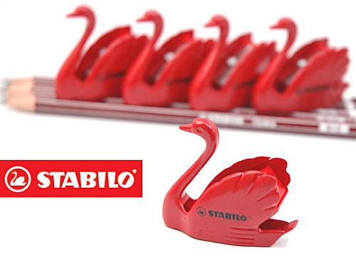 【STABILO】スタビロ スワンシャープナー 【鉛筆削り】