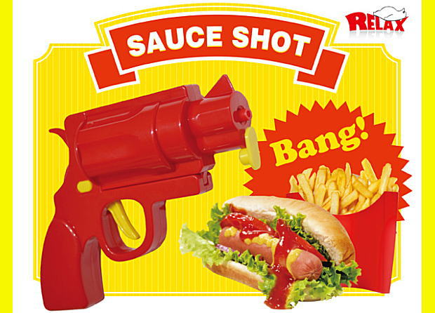 【RELAX/リラックス】Sauce Shot/ソースショット ケチャップガン