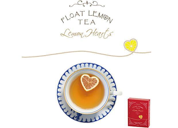 光浦醸造 / FLOAT LEMON TEA Lemon Hearts 出雲紅茶 フロートレモンティー レモンハート 1箱(3セット入)
