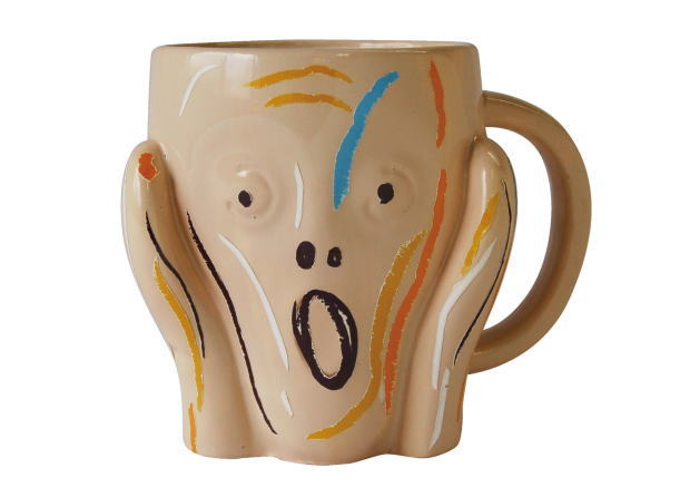 ムンクのマグカップ 叫び 世界の名画 マグ ムンクSAN1977-B